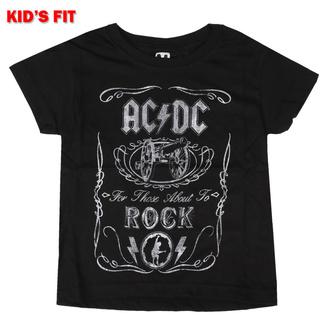 Otroška majica AC / DC - Vtge Cannon Swig - ROCK OFF, ROCK OFF, AC-DC
