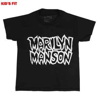 Otroška majica Marilyn Manson - Classic Logo - ROCK OFF, ROCK OFF, Marilyn Manson