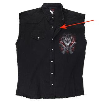 Moški brez rokavov majica SPIRAL - Street Reaper - Črno - ZAŠČITA, SPIRAL
