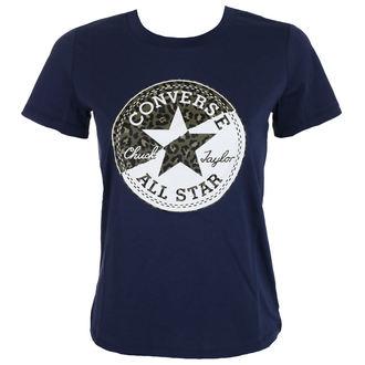 Ženska ulična majica - Spliced Leopard - CONVERSE, CONVERSE