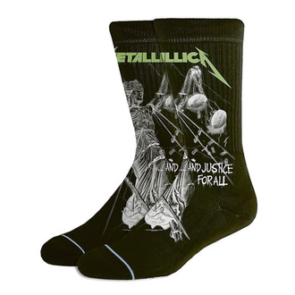 Nogavice Metallica - AJFA Black - RTMTLSOBAJFA