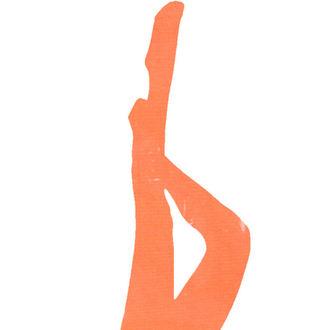 nogavice LEGWEAR - signature 70 denier coloured soft opaque tight - neon oranžna, LEGWEAR