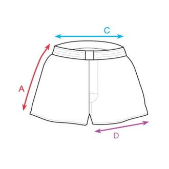 Moški Boxer Kratke hlače HORSEFEATHERS - APOLLO - MODRA, HORSEFEATHERS