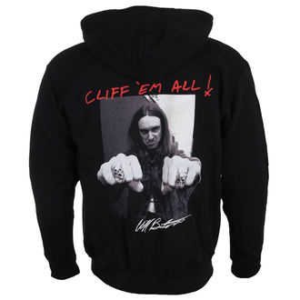 jopa s kapuco moški Metallica - Cliff Burton -, NNM, Metallica