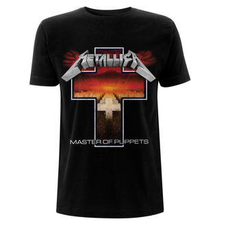 majica kovinski moški Metallica - Master Of Puppets Cross -, NNM, Metallica