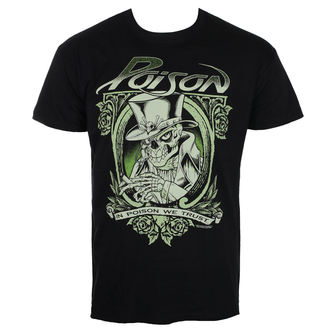Moška metal majica Poison - Črna - HYBRIS, HYBRIS, Poison