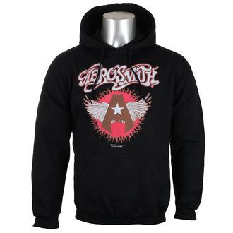 Moška jopa s kapuco Aerosmith - Flying A Logo - HYBRIS, HYBRIS, Aerosmith