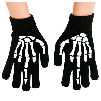 Rokavice TOO FAST - UP YOURS SKELETON HAND MIDDLE, TOO FAST
