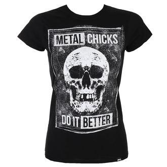 Ženska majica METAL CHICKS DO IT BETTER, METAL CHICKS DO IT BETTER