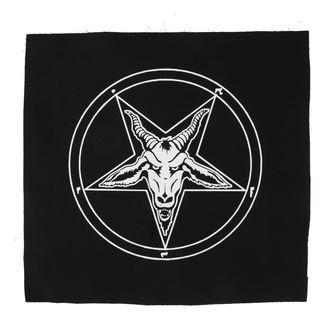 Velik našitek Bafomet - pentagram, NNM