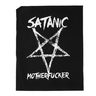 Velik našitek Satanic motherfucker, NNM