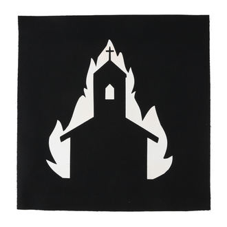 Velik našitek Cerkev v plamenih, NNM