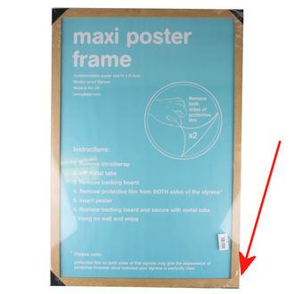 okvir do plakat (61x91,5 cm) - Oak - GB Posters - ZAŠČITA, GB posters