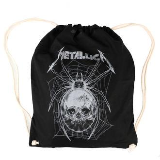 Vreča Metallica - Grey Spider - Črna, NNM, Metallica
