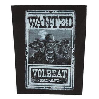 Našitek VOLBEAT - WANTED - ROCK OFF, ROCK OFF, Volbeat