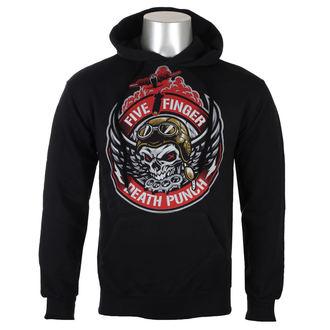 Moška jopa s kapuco Five Finger Death Punch - Črna - ROCK OFF, ROCK OFF, Five Finger Death Punch
