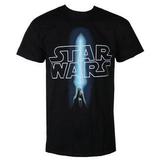 Moška filmska majica Star Wars - LOGO & SABER - LIVE NATION, LIVE NATION