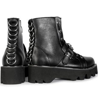Ženski škornji s platformo - BUCKLE - DISTURBIA, DISTURBIA