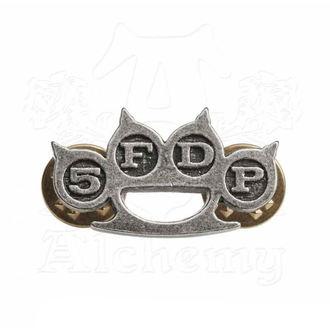 Značka Five Finger Death Punch - Knuckle Duster - ALCHEMY GOTHIC, ALCHEMY GOTHIC, Five Finger Death Punch