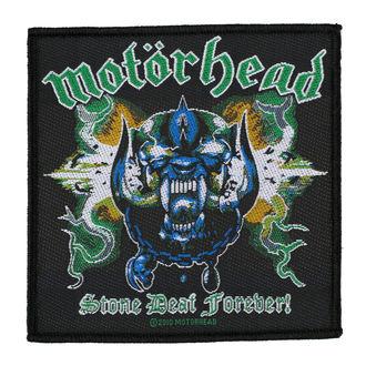 Našitek MOTORHEAD - STONE DEAF FOREVER - RAZAMATAZ, RAZAMATAZ, Motörhead