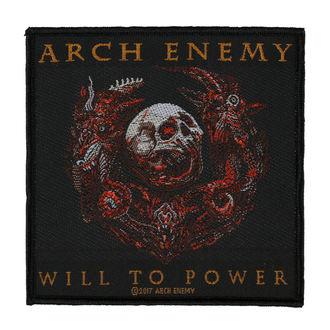 Našitek ARCH ENEMY - WILL TO POWER - RAZAMATAZ, RAZAMATAZ, Arch Enemy