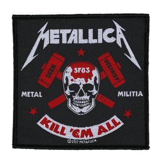 Našitek METALLICA - METAL MILITIA - RAZAMATAZ, RAZAMATAZ, Metallica
