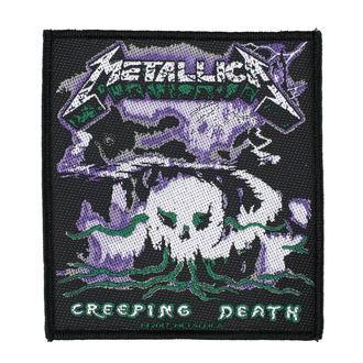 Našitek METALLICA - CREEPING DEATH - RAZAMATAZ, RAZAMATAZ, Metallica