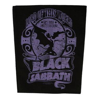 Našitek velik BLACK SABBATH - LORD OF THIS WORLD - RAZAMATAZ, RAZAMATAZ, Black Sabbath