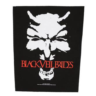Našitek velik BLACK VEIL BRIDES - DEVIL - RAZAMATAZ, RAZAMATAZ, Black Veil Brides