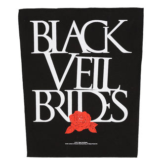 Našitek velik BLACK VEIL BRIDES - ROSE - RAZAMATAZ, RAZAMATAZ, Black Veil Brides