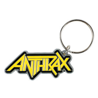 Obesek za ključe obesek ANTHRAX - LOGO - RAZAMATAZ, RAZAMATAZ, Anthrax