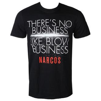 Moška Filmska Majica Narcos - NO BUSINESS LIKE - PLASTIC HEAD, PLASTIC HEAD