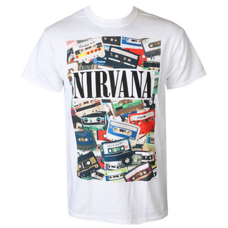 Moška Metal Majica Nirvana - CASSETTES - PLASTIC HEAD, PLASTIC HEAD, Nirvana