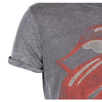 Moška Metal Majica Rolling Stones - Vintage Tongue Logo - ROCK OFF, ROCK OFF, Rolling Stones