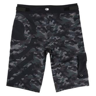 Moške kratke hlače (plavalne kratke hlače) METAL MULISHA - SNARE - BLK, METAL MULISHA