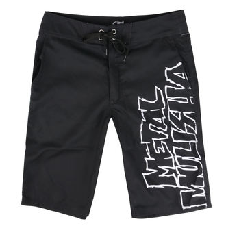 Moške kratke hlače (plavalne kratke hlače) METAL MULISHA - SQUAD - BLK, METAL MULISHA