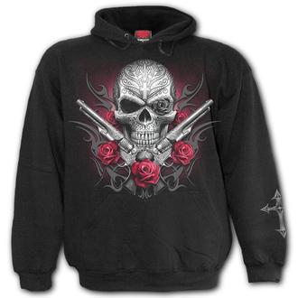 Moški pulover s kapuco- DEATH PISTOL - SPIRAL, SPIRAL
