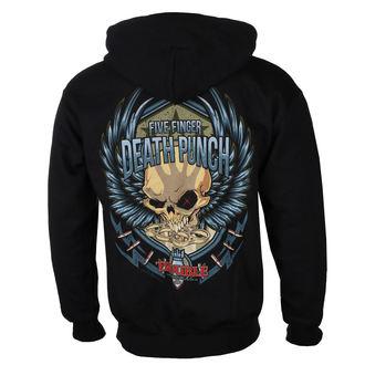 Moška Jopa s kapuco Five Finger Death Punch - Trouble - ROCK OFF, ROCK OFF, Five Finger Death Punch
