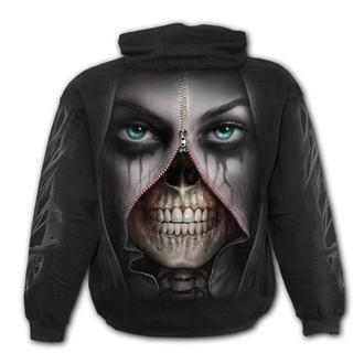 Moški pulover s kapuco - ZIPPED - SPIRAL, SPIRAL