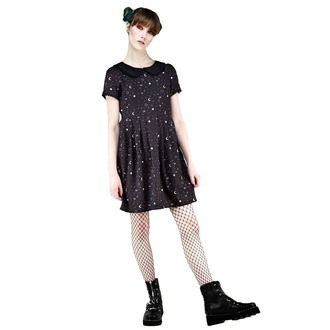 Ženska obleka DISTURBIA - Kosmos Collared, DISTURBIA