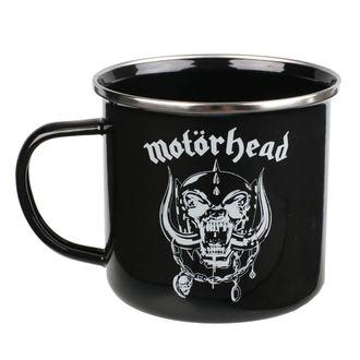 Emajlirana skodelica Motörhead - Logo, NNM, Motörhead