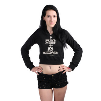 Ženski crop top - Black Mass - BELIAL, BELIAL