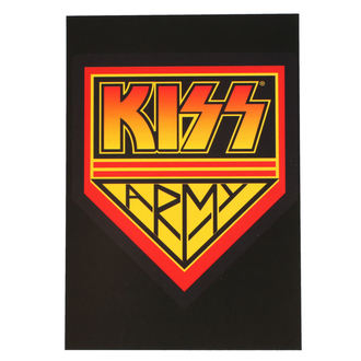 Razglednica KISS - ARMY LOGO - ROCK OFF, ROCK OFF, Kiss