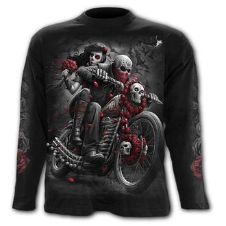 Moška majica z dolgimi rokavi- DOTD BIKERS - SPIRAL