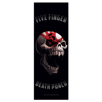 Zastava Five Finger Death Punch - Speech Skull, HEART ROCK, Five Finger Death Punch