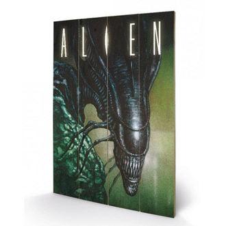 Lesena slika Alien - (Creep) - PYRAMID POSTERS, PYRAMID POSTERS, Alien - Vetřelec