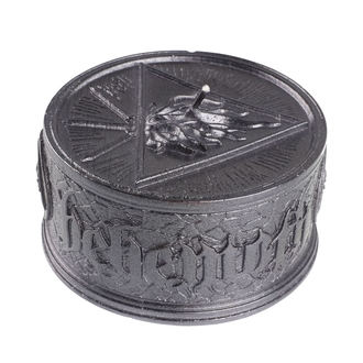 Sveča BEHEMOTH - UNHOLY TRINITY - BLACK METALLIC - PLASTIC HEAD, PLASTIC HEAD, Behemoth