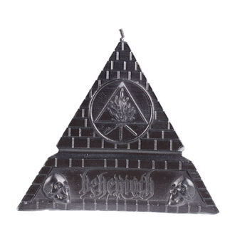 Sveča BEHEMOTH - UNHOLY TRINITY PYRAMID - BLACK - PLASTIC HEAD, PLASTIC HEAD, Behemoth
