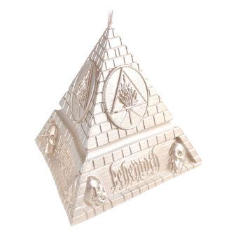 Sveča BEHEMOTH - UNHOLY TRINITY PYRAMID - BRASS - PLASTIC HEAD, PLASTIC HEAD, Behemoth