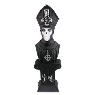 Sveča GHOST - PAPA EMERITUS - BLACK MATT - PLASTIC HEAD, PLASTIC HEAD, Ghost